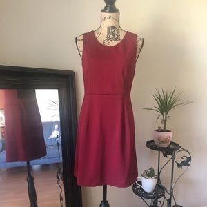 Dresses & Skirts - Gorgeous Burgundy/red dress with back lace work